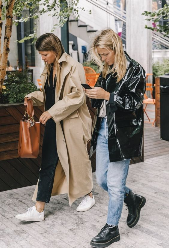 barrel jeans   trench coats combat boots high-water pants   Girlfriend is Better