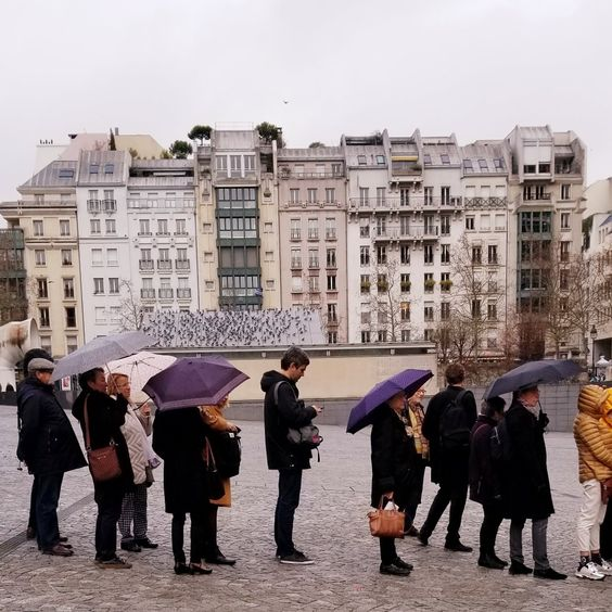 Paris 4th arrondissement | Pompidou Center art gallery French architecture | Girlfriend is Better