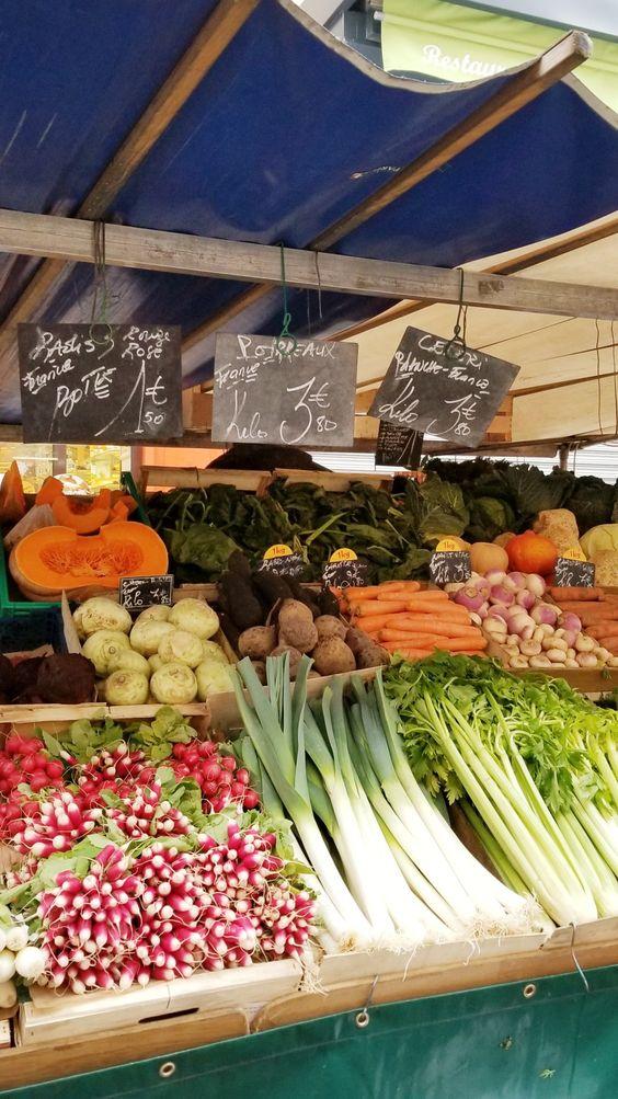 paris 7th arrondissement   rue cler farmer's market vegetables travel guide   Girlfriend is Better