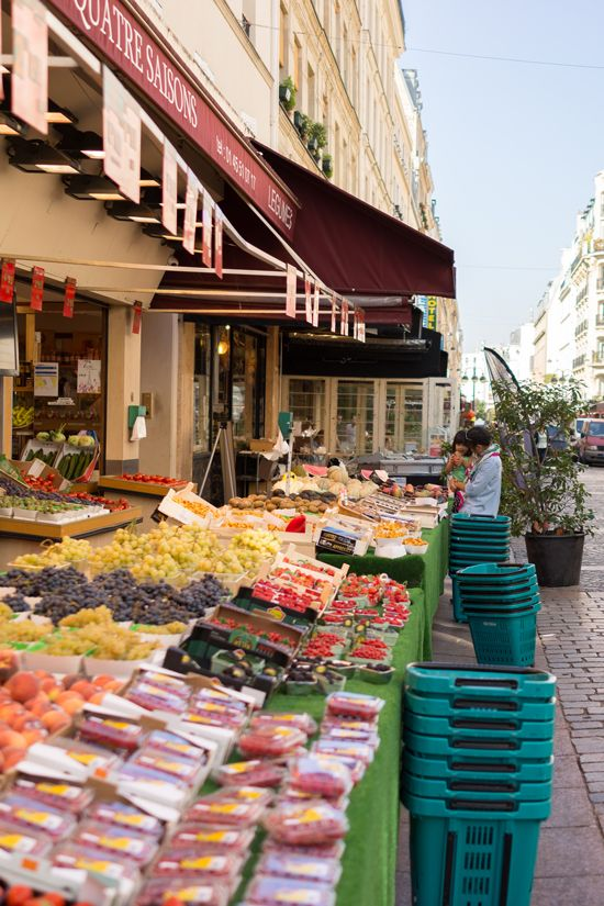 paris 7th arrondissement   rue cler grocery market fruit vegetables shopping guide france   Girlfriend is Better