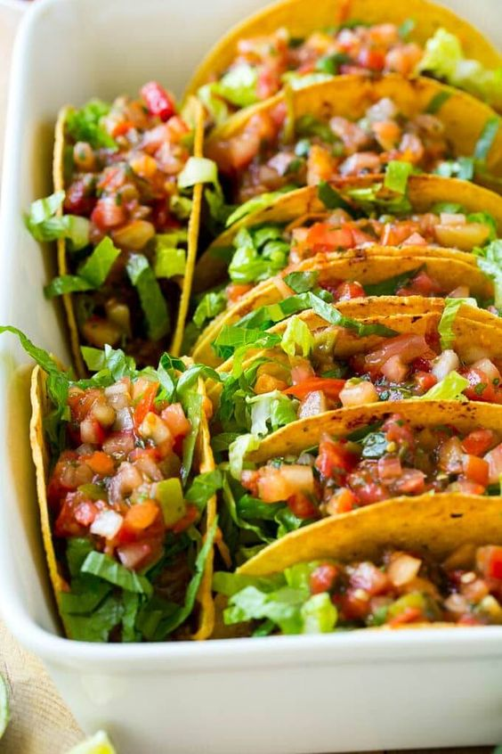 tacos   vibrant greenery in a dish   Girlfriend is Better