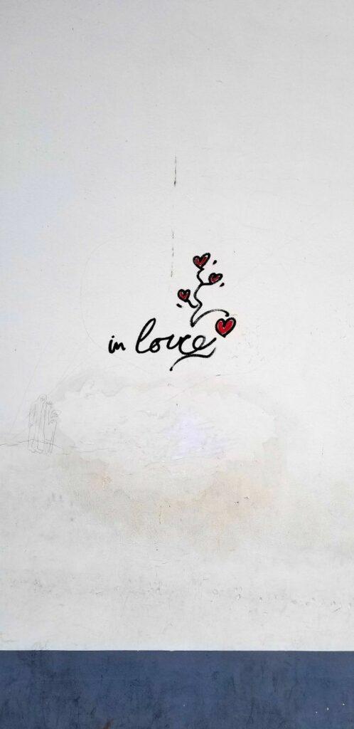 Paris 18th arrondissement | love sharpie graffiti art | Girlfriend is Better