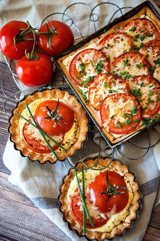 tomato tarts recipe   lunch ricotta cream cheese   Girlfriend is Better