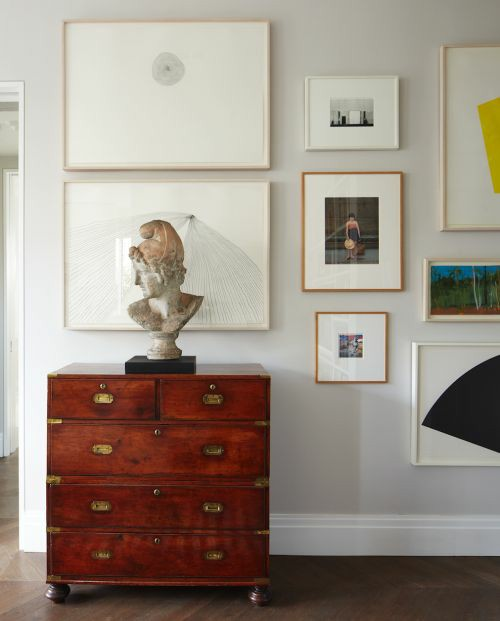 bust statues | Greek inspired vintage classical art gallery wall | Girlfriend is Better
