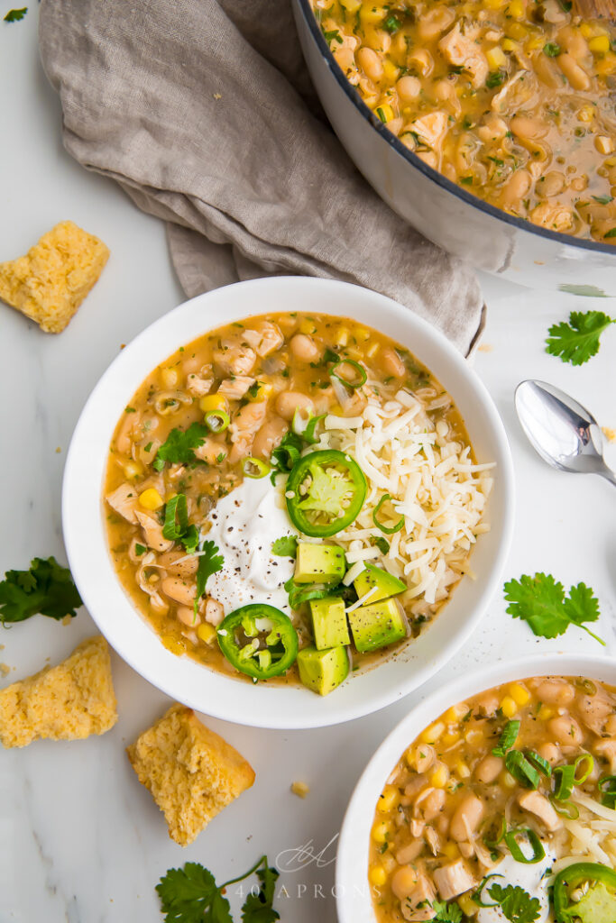 chili recipes   white beans cayenne pepper chicken green chilis corn healthy   Girlfriend is Better