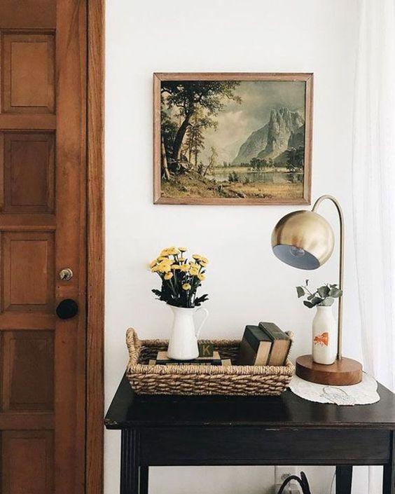 landscape paintings | Feng Shui wisdom knowledge home office study  earth water wood element | Girlfriend is Better