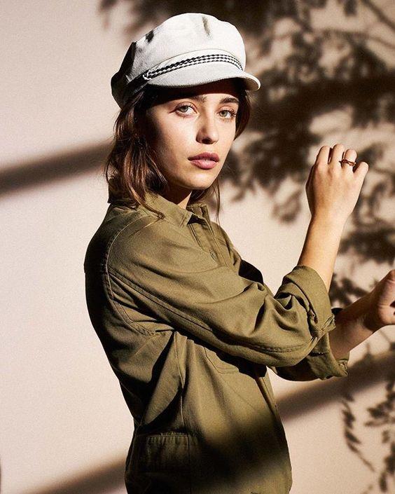 loungewear | workman shirt work wear home office lieutenant cap | Girlfriend is Better