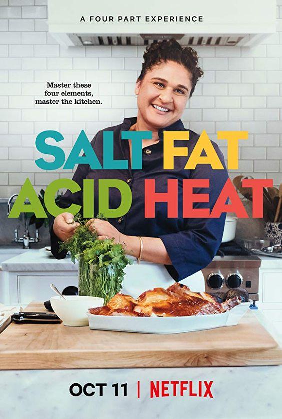 Netflix cooking shows | Chef Samin Nosrat Salt Fat Acid Heat kitchen | Girlfriend is Better