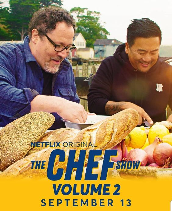Netflix cooking shows | Chef Show Jon Favreau Roy Choi travel binge watch review | Girlfriend is Better