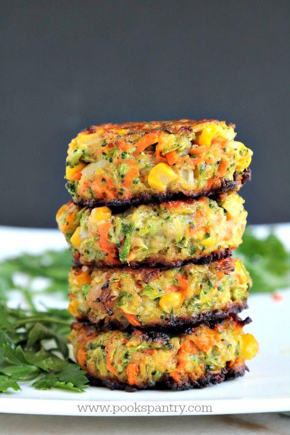April seasonal vegetables | broccoli veggie cakes vegetarian recipe kid-friendly | Girlfriend is Better