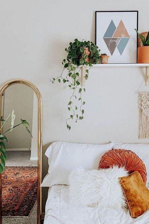 mirror Feng Shui   full-length bedroom Bohemian   Girlfriend is Better