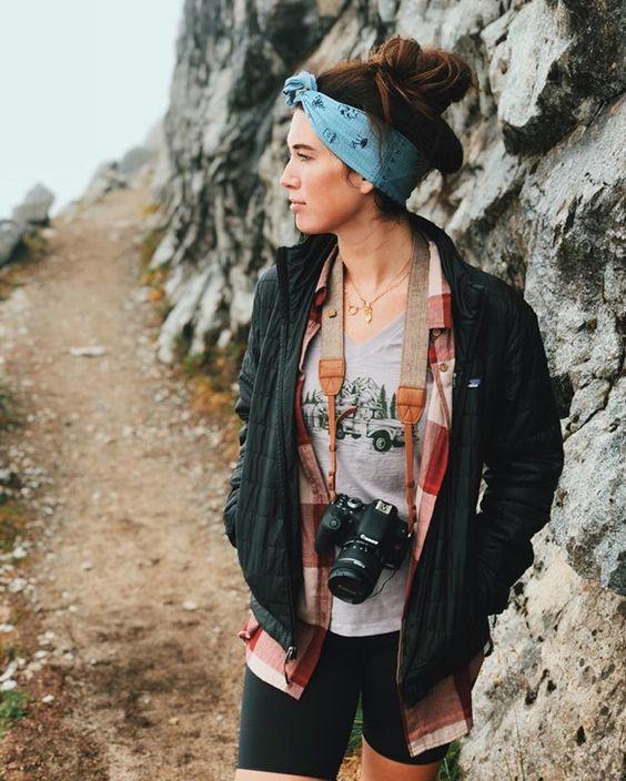 staycation activities   hiking bandana photography bike shorts   Girlfriend is Better
