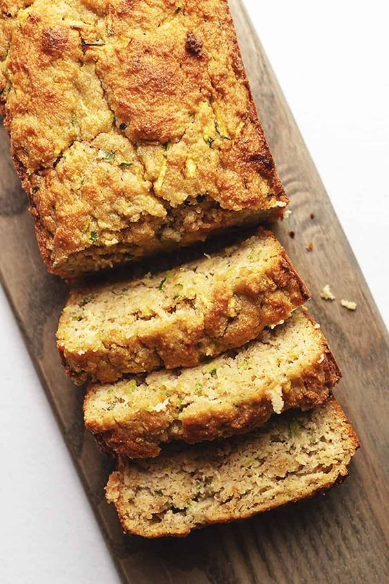 May seasonal vegetables | Low Carb Keto Zucchini Quick Bread recipe sweet savory | Girlfriend is Better