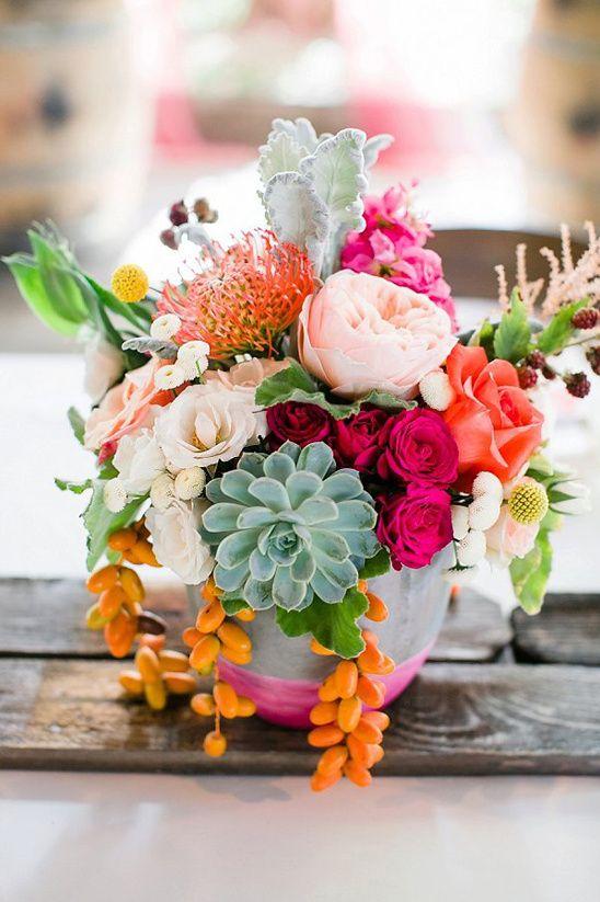 table settings bohemian eclectic | succulents floral arrangement | Girlfriend is Better