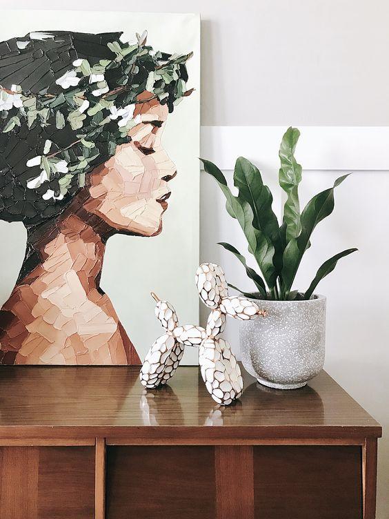 plant minimalism | portrait random person vignette | Girlfriend is Better