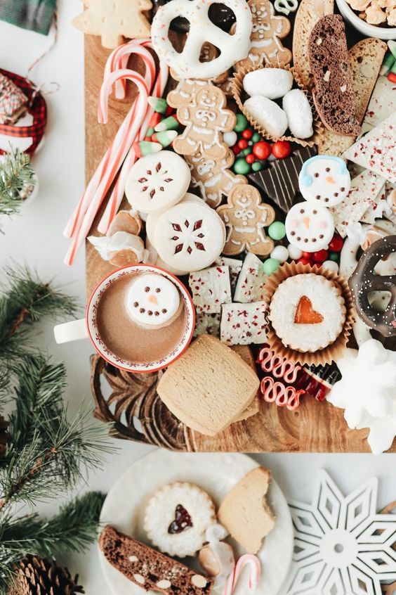 cozy Christmas | homemade cookies hot cocoa baking | Girlfriend is Better