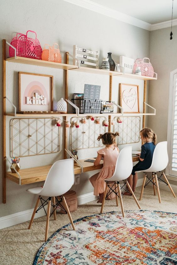 summer education | children's desk shared learning ideas | Girlfriend is Better