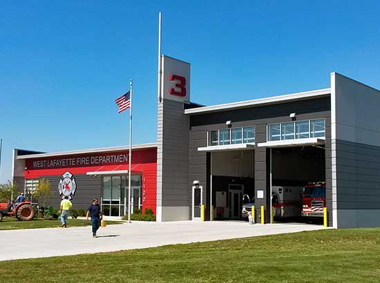 West Lafayette Fire Station