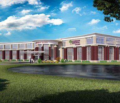 Keystone Construction chosen to build Johnson Memorial Hospital's new rehabilitation center