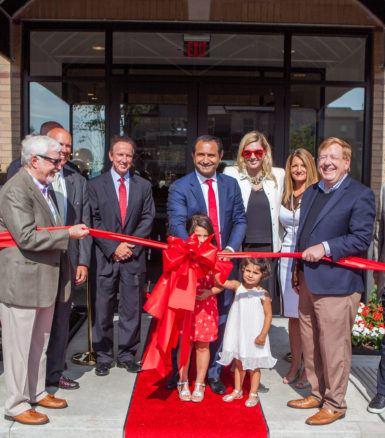 Keystone Realty Group celebrates the opening of The Olivia Luxury Residences