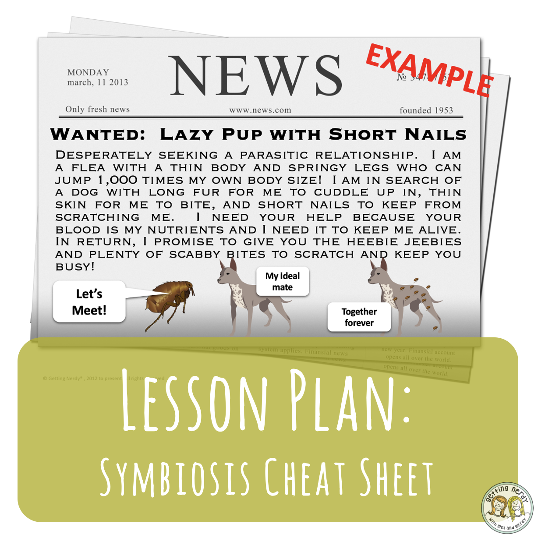 Lesson Plan: Easy Symbiotic Relationships