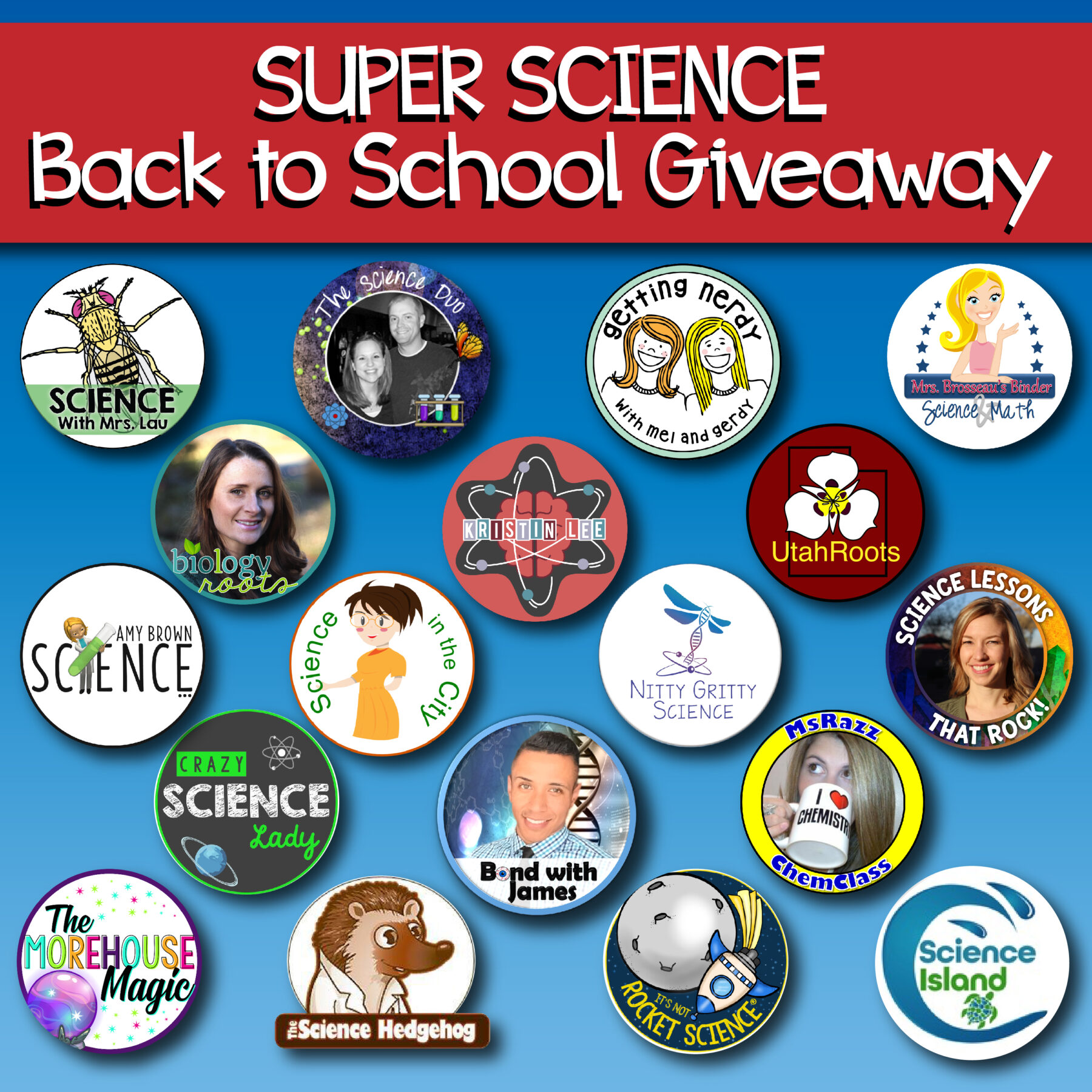 Secondary Science 2018 Giveaway