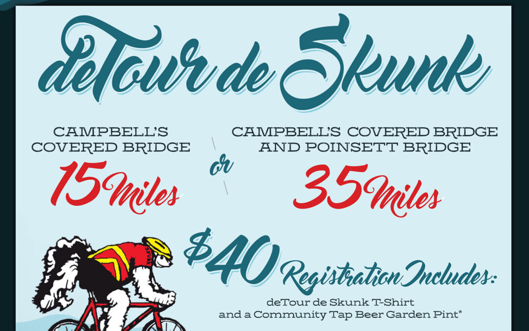 DeTour de Skunk bike ride to benefit Patton Wages of the band Volume Five