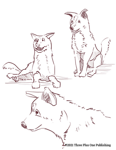 Sketches & Character Development (5)