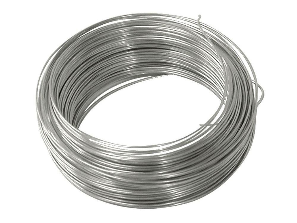 Galv wire coil