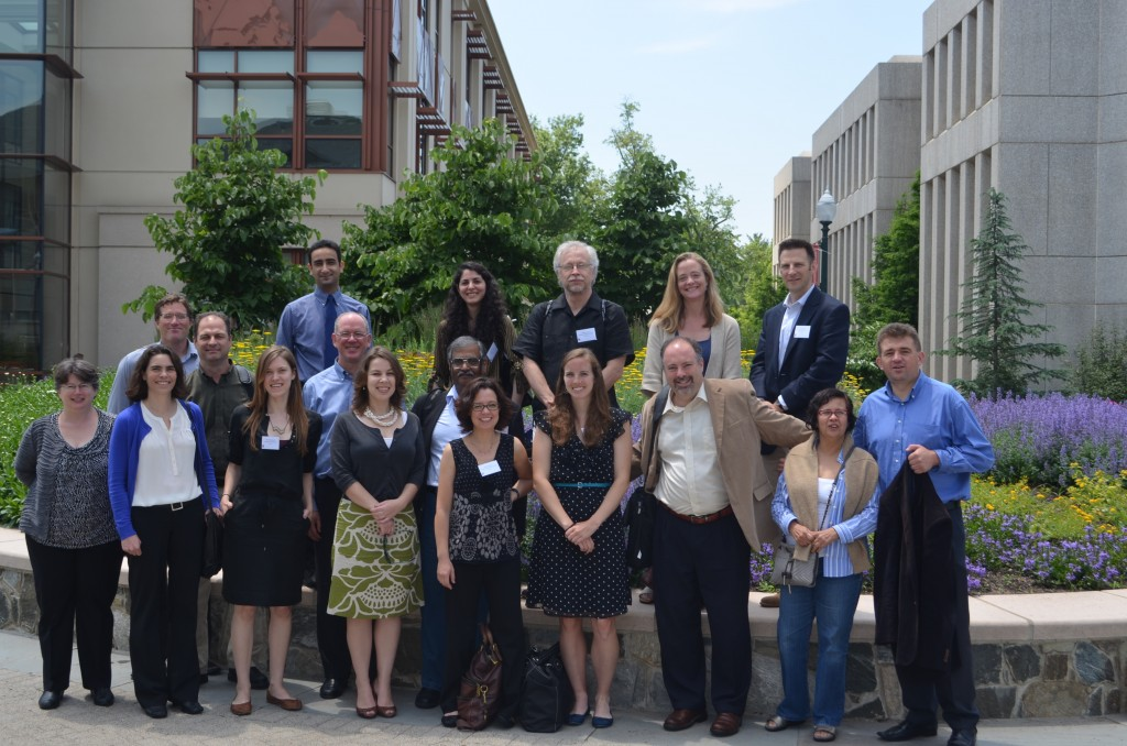Participants (most of them) in the seminar at American University, May 2013