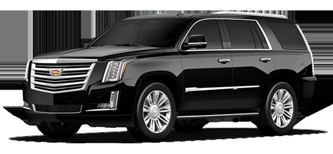 Caddilac Escalade SUV For Airport Limo Transfers Banff