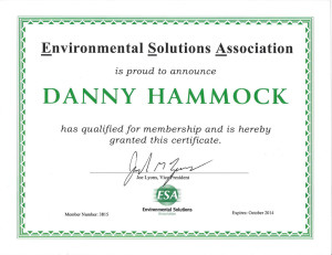 Environmental Solutions Association Member