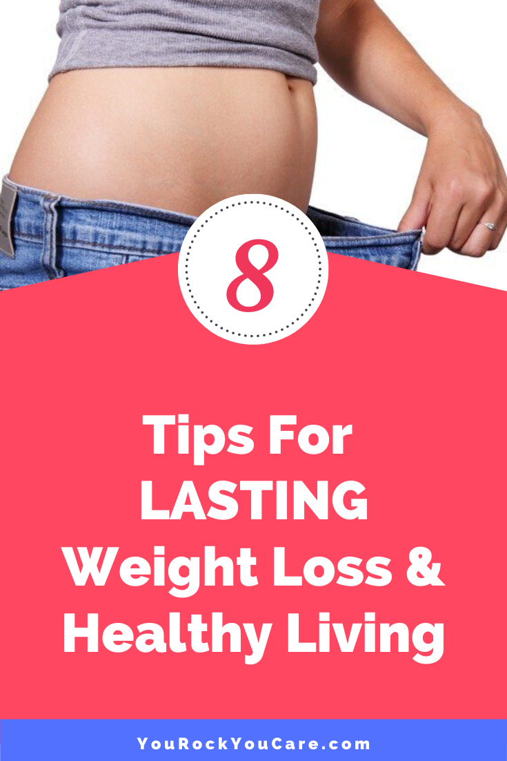 8 Tips For Lasting Weight Control and Healthy Living: How to Lose Weight Without Dieting