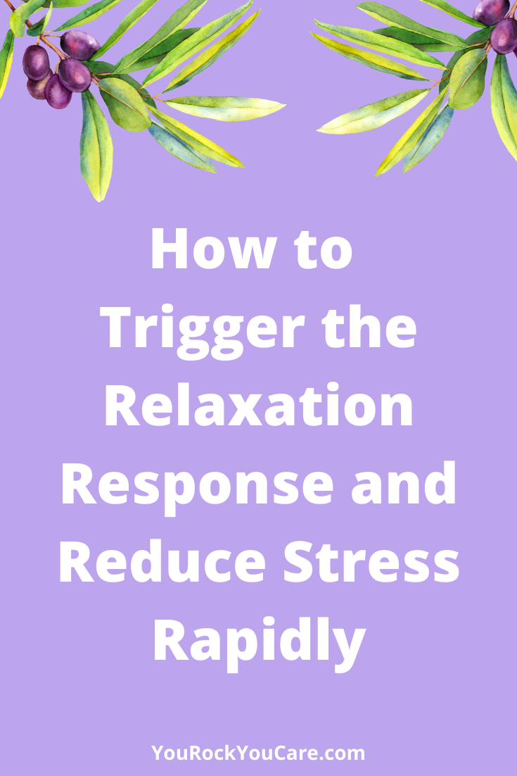 How to Trigger the Relaxation Response and Reduce Stress Rapidly -- By using the Instant Stress Reliever, you can trigger the relaxation response and reduce stress rapidly. So, you can block the release of stress hormones and avoid their harmful health effects..