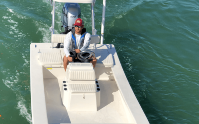 Shallow Water Boat Navigation: Learning How to Navigate Your Vessel