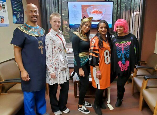 Team Iworks Halloween fun