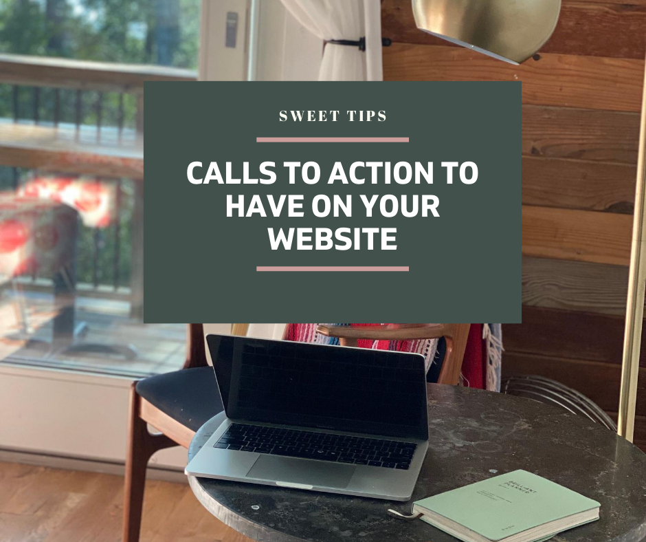 Calls to Action to have on website