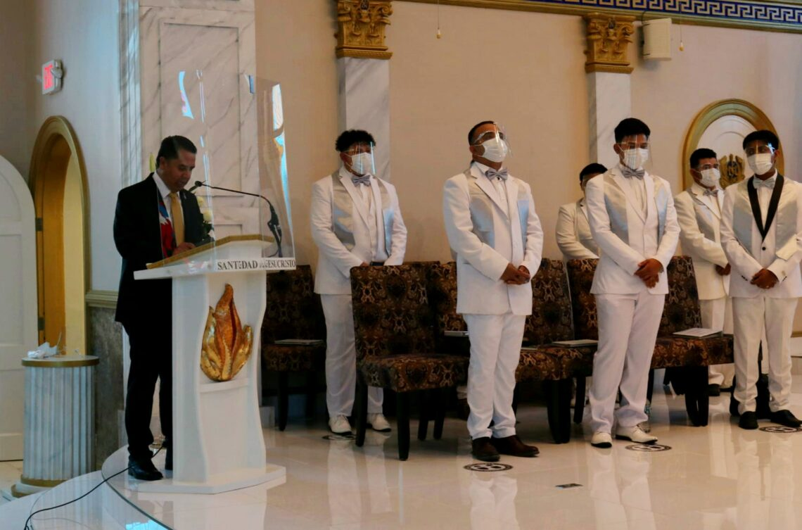Deacon Eliseo Magallon with Welcome Address