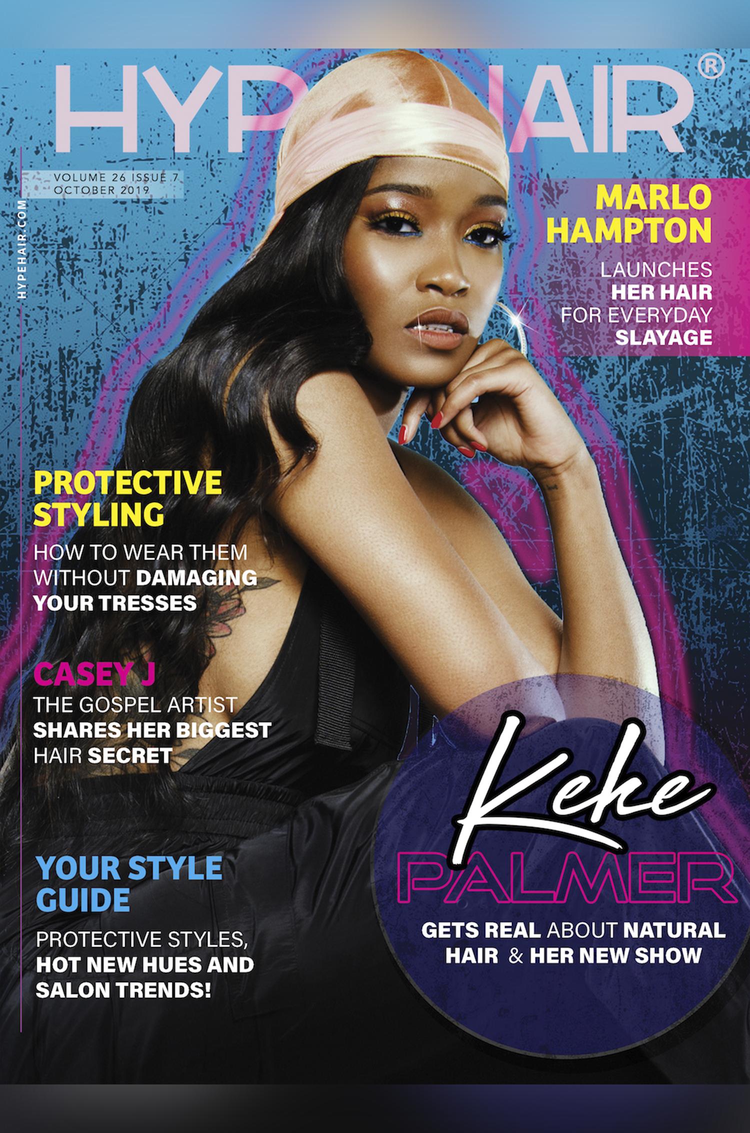 Keke Palmer HYPE HAIR Cover Lawrence S Murray
