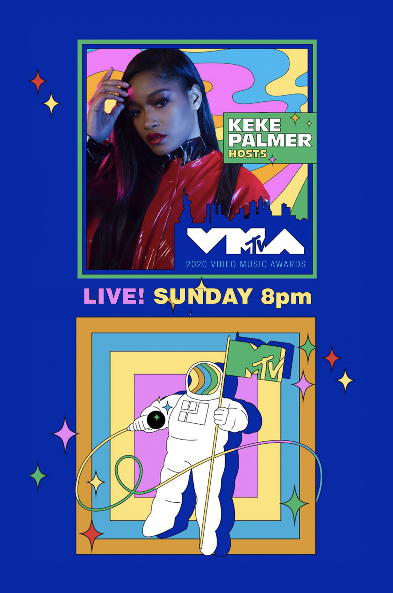 2020 MTV VMAs Keke Palmer Lawrence S Murray Advertising Design