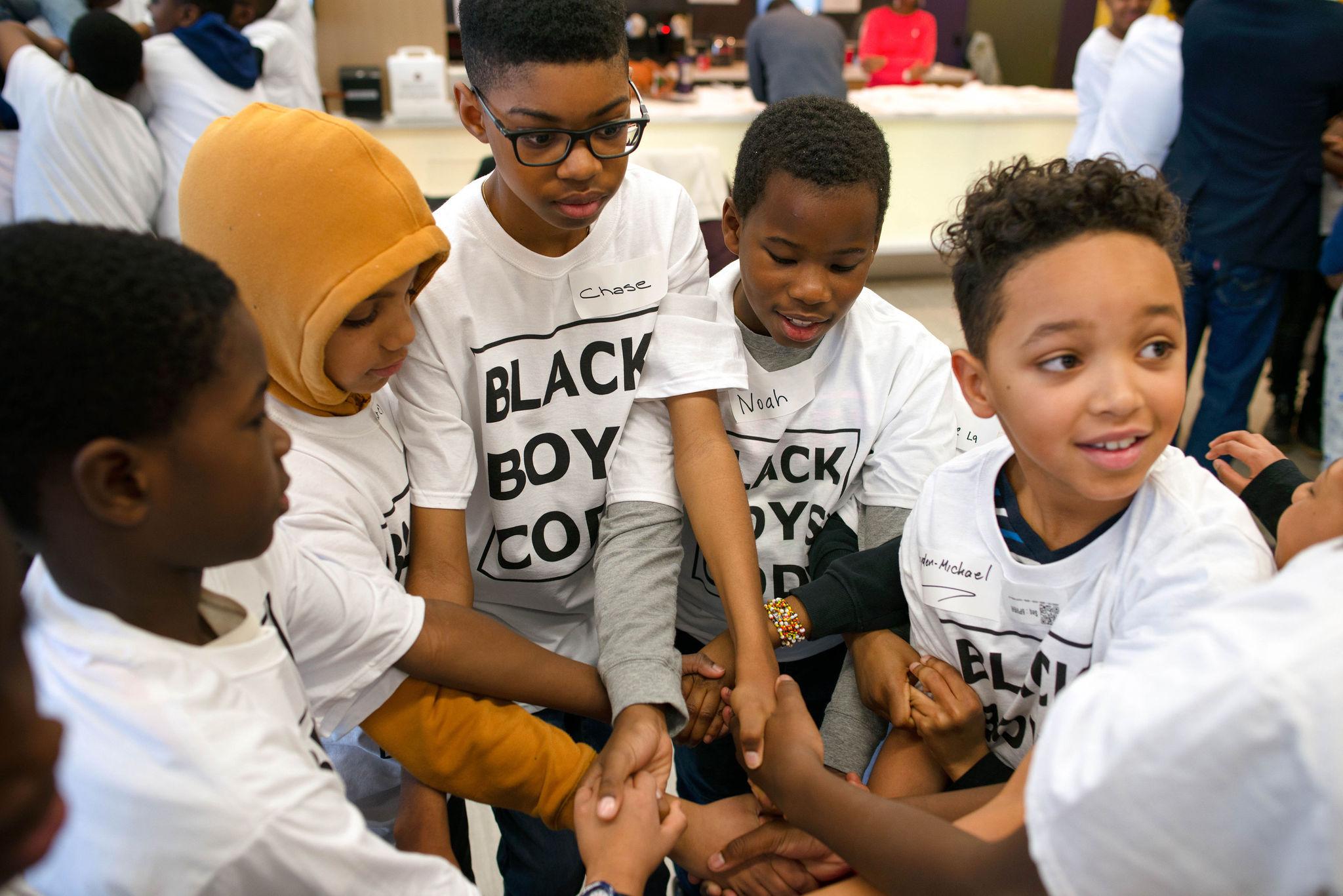 Black Boys Code workshop