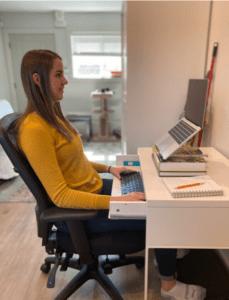 proper at-home ergonomics