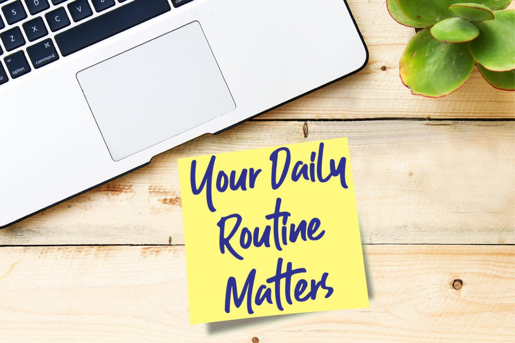 routines to beat work from home stress