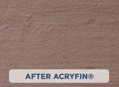 After ACRYFIN ® Acrylic Polymer Coatings