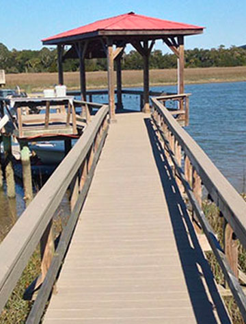 Dock after Acryfin