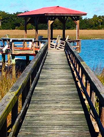 Dock before Acryfin