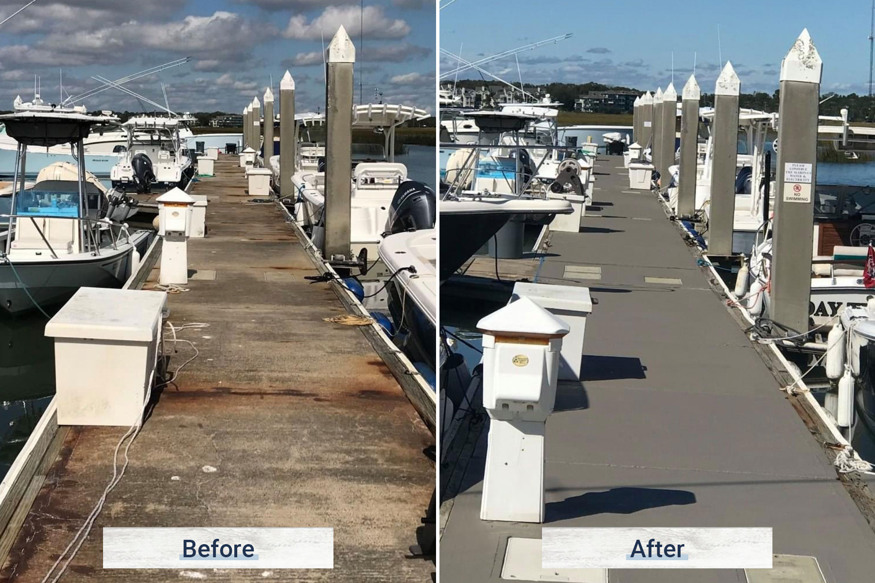concrete 1 before and after