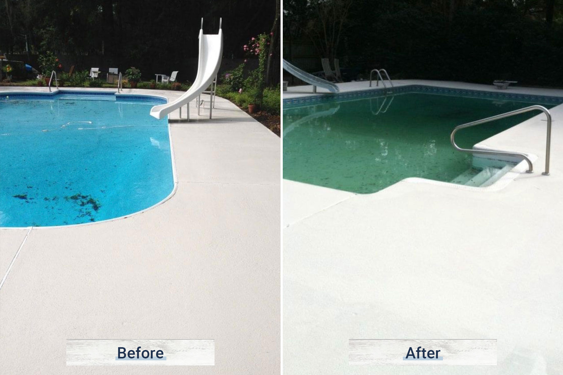 concrete 3 before and after