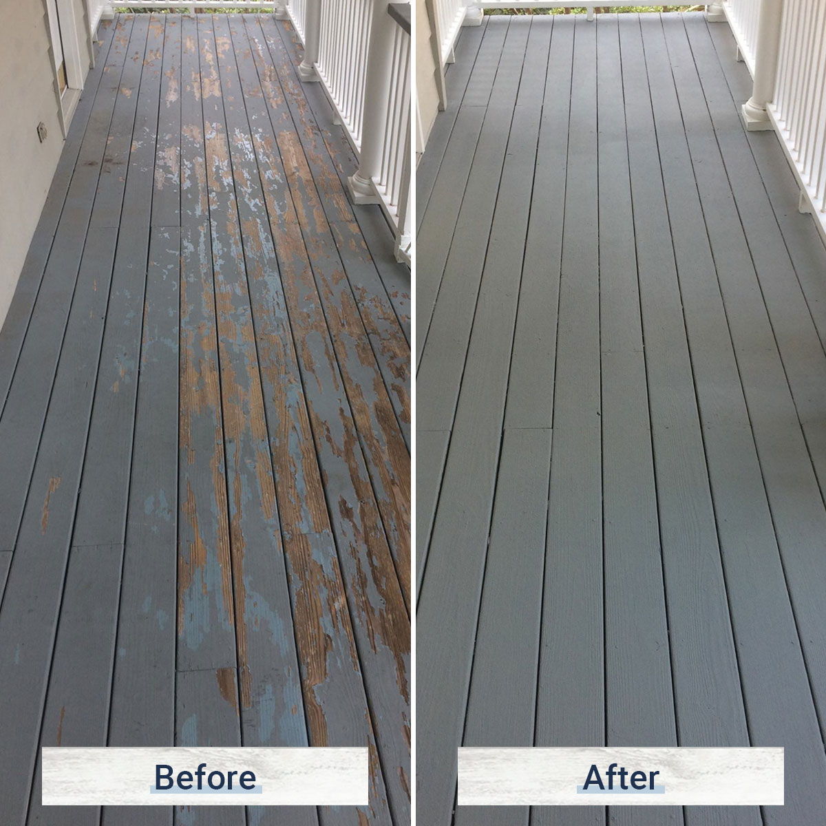 deck 1 before and after