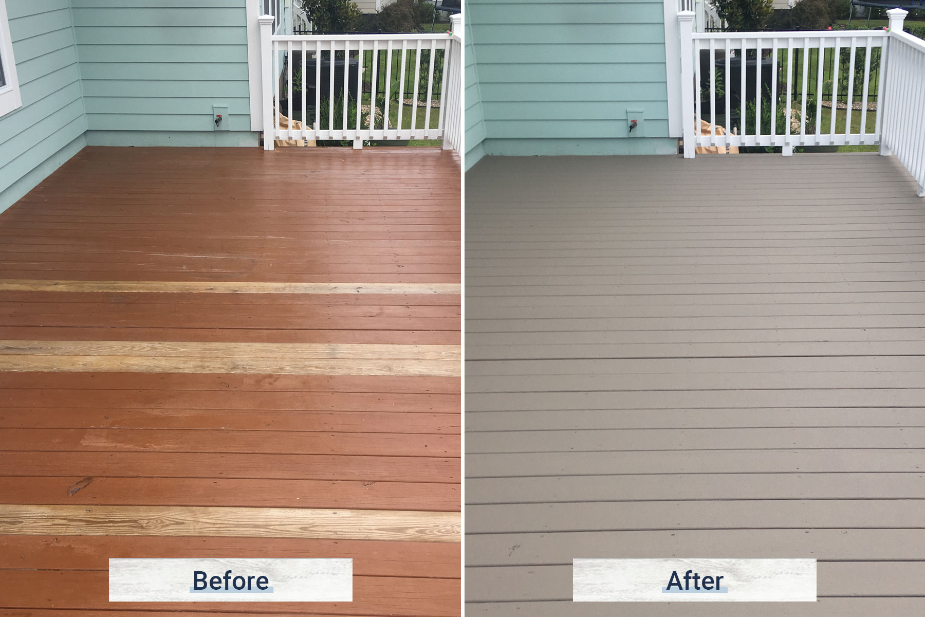 deck 2 before and after